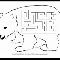 Polar Bear Printable Maze
