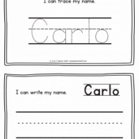 Carlo – Name Printables for Handwriting Practice