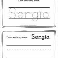 Sergio – Name Printables for Handwriting Practice