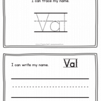 Val – Name Printables for Handwriting Practice
