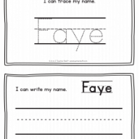 Faye – Name Printables for Handwriting Practice