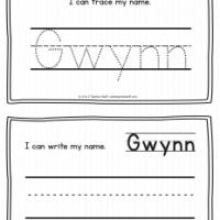 Gwynn – Name Printables for Handwriting Practice