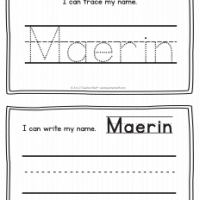 Maerin – Name Printables for Handwriting Practice