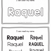 Raquel – Name Printables for Handwriting Practice