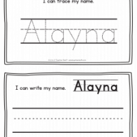 Alayna – Name Printables for Handwriting Practice
