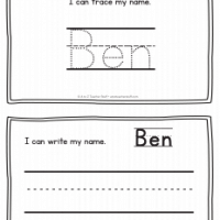 Ben – Name Printables for Handwriting Practice