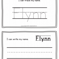 Flynn – Name Printables for Handwriting Practice