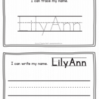 LilyAnn – Name Printables for Handwriting Practice