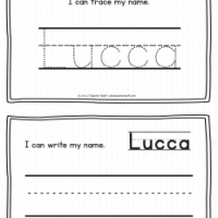 Lucca – Name Printables for Handwriting Practice