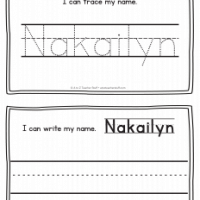 Nakailyn – Name Printables for Handwriting Practice
