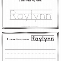 Raylynn – Name Printables for Handwriting Practice
