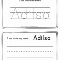 Adilso – Name Printables for Handwriting Practice