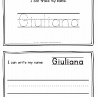Giuliana – Name Printables for Handwriting Practice