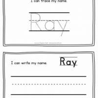 Ray – Name Printables for Handwriting Practice