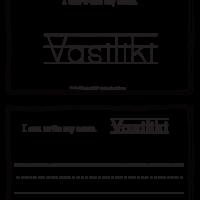 Vasiliki – Name Printables for Handwriting Practice