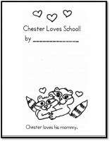 Chester Goes to School Book