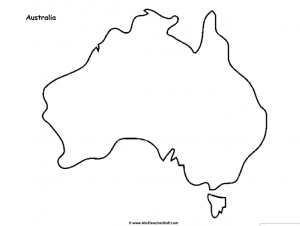 Map Of Australia Facts.Australia Maps A To Z Teacher Stuff Printable Pages And Worksheets