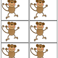 photo about Printable Monkeys referred to as Monkeys A towards Z Trainer Things Printable Webpages and Worksheets