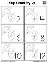 Leaf Skip Counting by 2