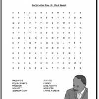 image regarding Martin Luther King Word Search Printable named Phrase Queries A in direction of Z Trainer Things Printable Web pages and