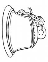 Christmas Bell Printable Page