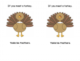 If You Meet a Turkey Printable Book