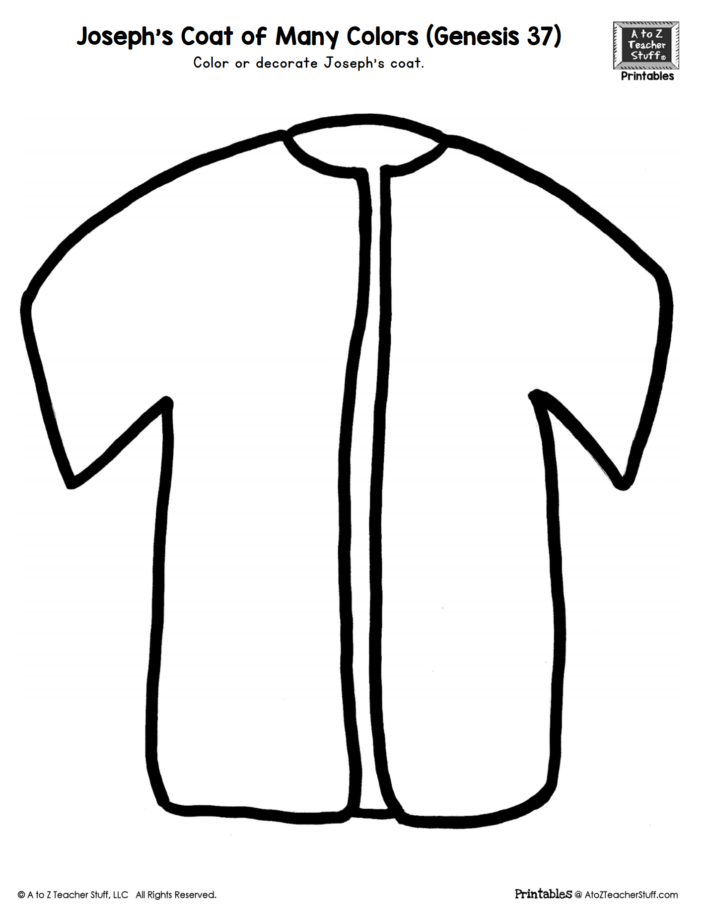 coat coloring pages - photo#18