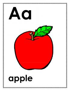 Alphabet letters a z printable Alphabet Worksheets