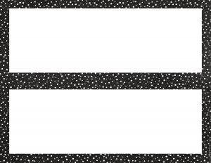 black-white-dot-nameplate-blank