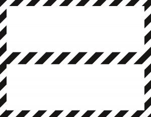 black-white-stripe-nameplate-blank